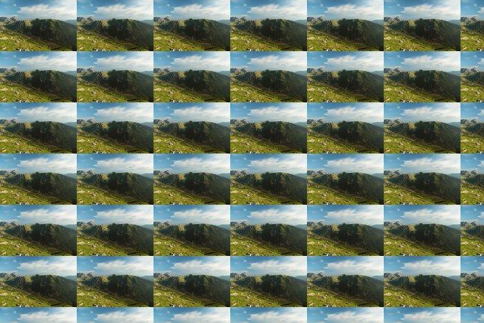 Vinylová Tapeta Pohled z vrcholu Kasprov vrch v Tatrách - Hory