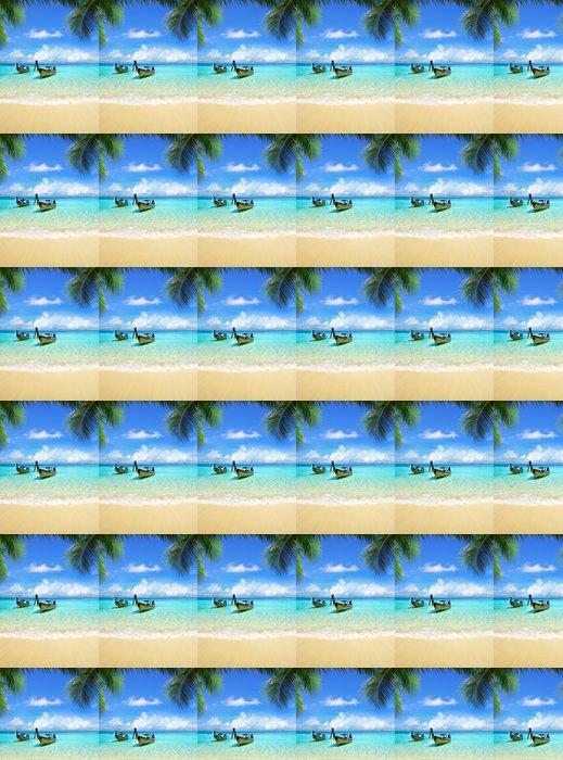 Vinylová Tapeta Tropické moře - Prázdniny