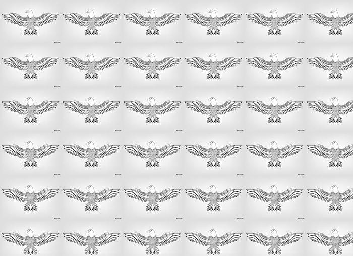 Vinylová Tapeta Eagle maskot - Ptáci