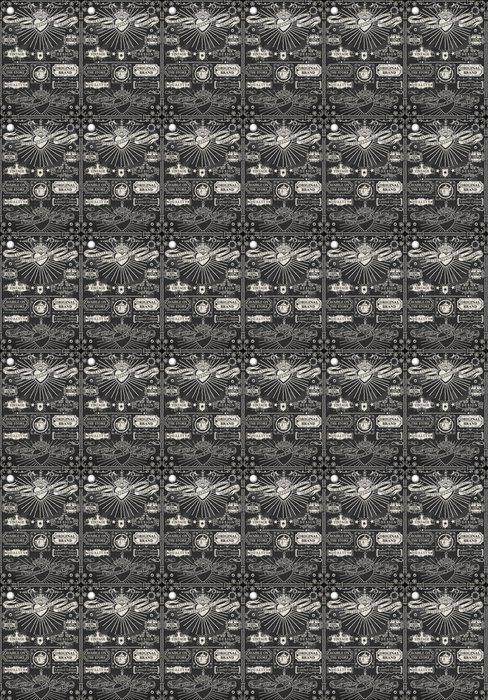 Vinylová Tapeta Sada kaligrafické prvky na tabuli - Struktury