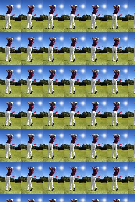 Vinylová Tapeta Člověk hrát golf - Golf