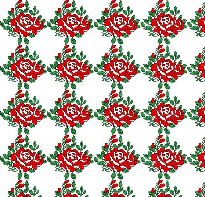 Vinylová Tapeta Růže ilustrace - Květiny