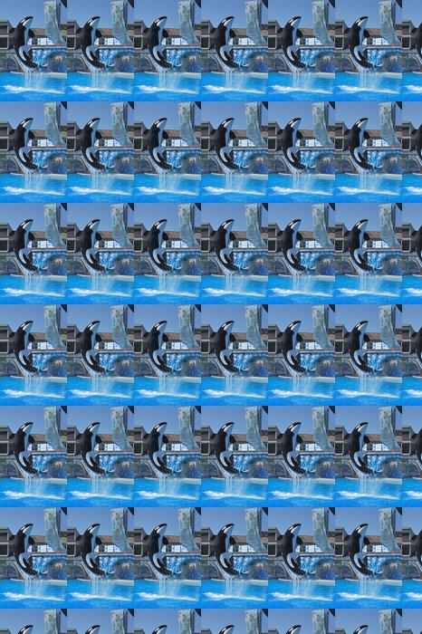 Vinylová Tapeta Kosatka skok vysoký - Vodní a mořský život