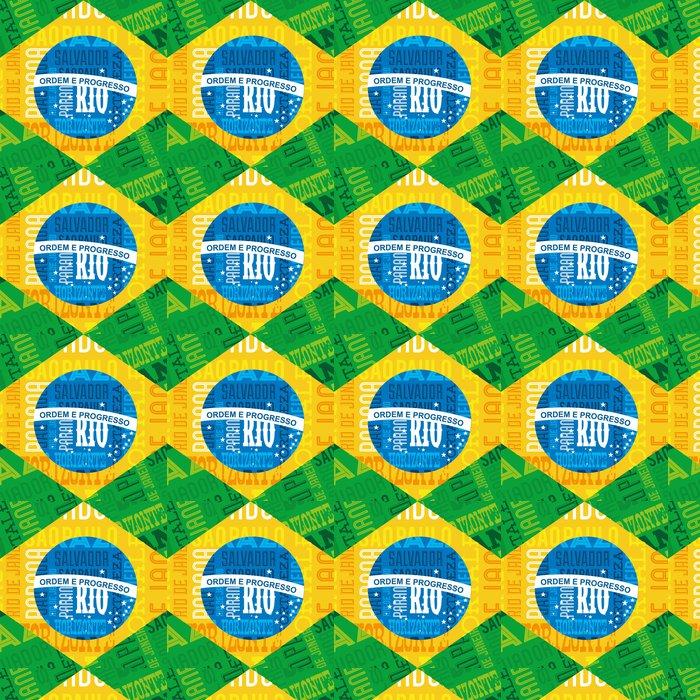 Vinylová Tapeta Brazílie konstrukce - Doplňky a věci