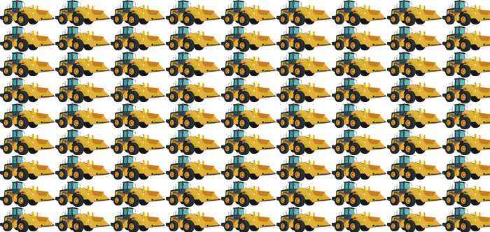 Vinylová Tapeta Buldozer - Stroje