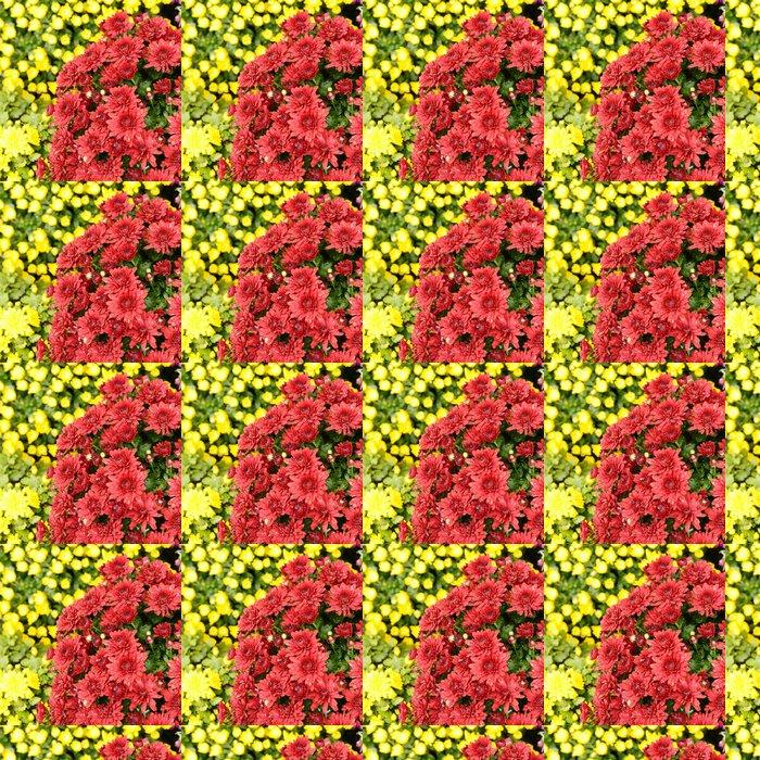 Vinylová Tapeta Chrysanthemums - Květiny