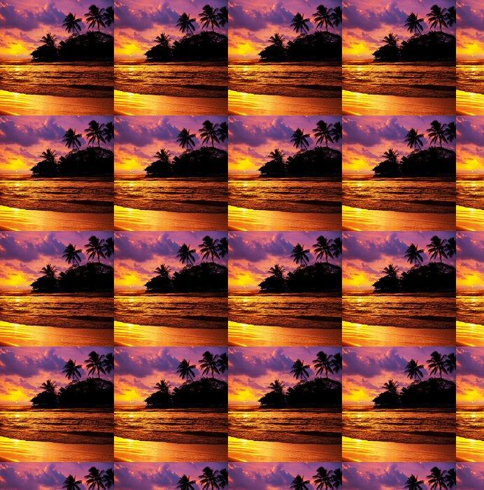 Vinylová Tapeta Tropical Beach - Témata