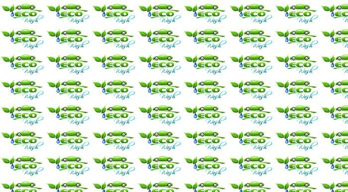 Vinylová Tapeta Eco car wash Symbol - Značky a symboly