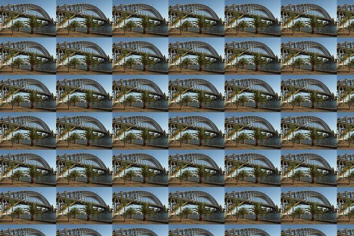 Vinylová Tapeta Palmy v Sydney přístav - Infrastruktura