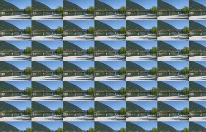 Vinylová Tapeta Na pláži ve městě Nelson, BC. - Amerika