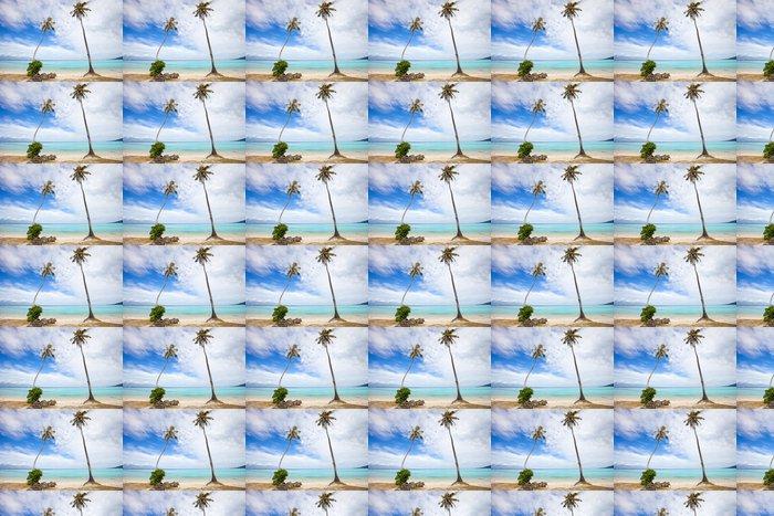 Vinylová Tapeta Palmy na pláži - Palmy