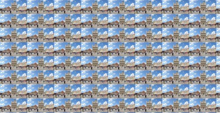 Vinylová Tapeta Náměstí Market, Poznaň, Polsko - Stitched Panorama - Témata