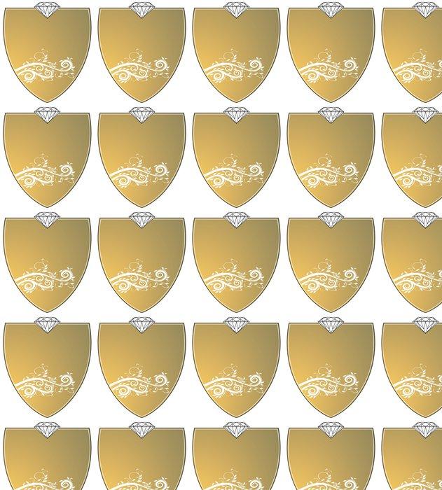Vinylová Tapeta Gold Wappen - Úspěch