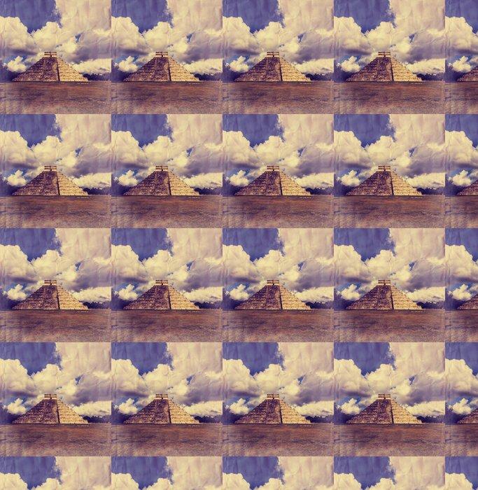 Vinylová Tapeta Pyramida v Mexiku - Amerika