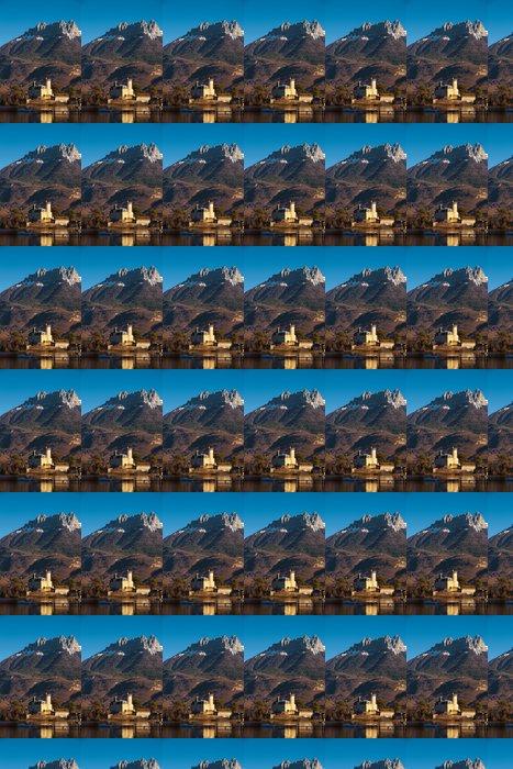 Vinylová Tapeta Alpy Castle Mountain Pozadí - Evropa