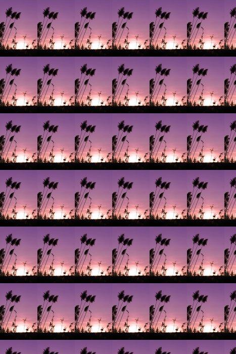 Vinylová Tapeta Západ slunce - Roční období