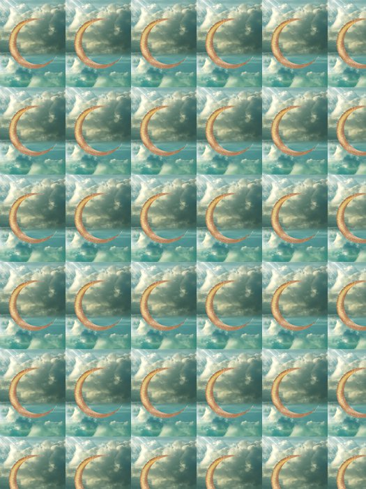 Vinylová Tapeta Golden Moon - Přírodní krásy