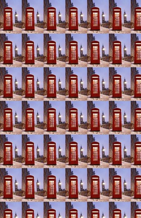 Vinylová Tapeta Londýn Telefonní budka a Big Ben - Témata