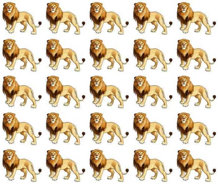 Vinylová Tapeta Lion King - Savci