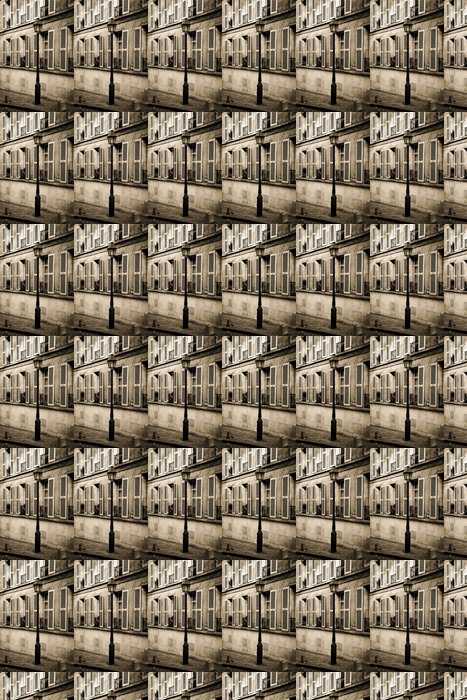 Vinylová Tapeta Street na Montmartru v Paříži v sépie - Evropská města