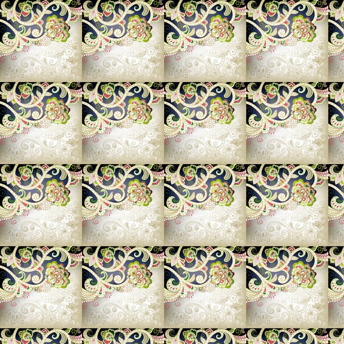 Vinylová Tapeta Abstraktní květinové spirála - Pozadí