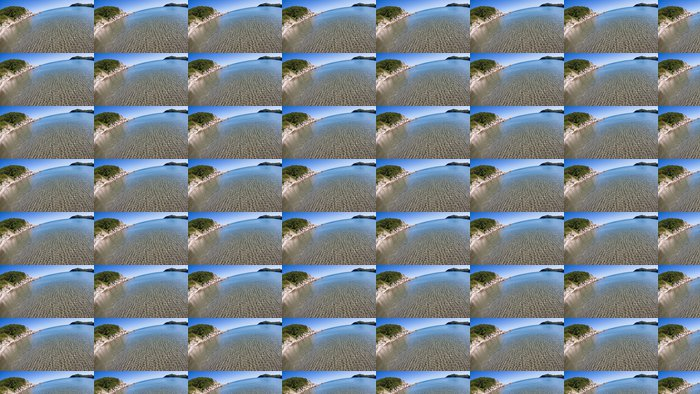 Vinylová Tapeta Letní krajina skalnaté pobřeží moře - Voda