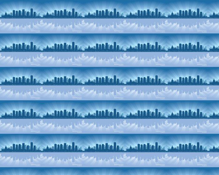 Vinylová Tapeta Edmonton, Kanada skyline - Amerika