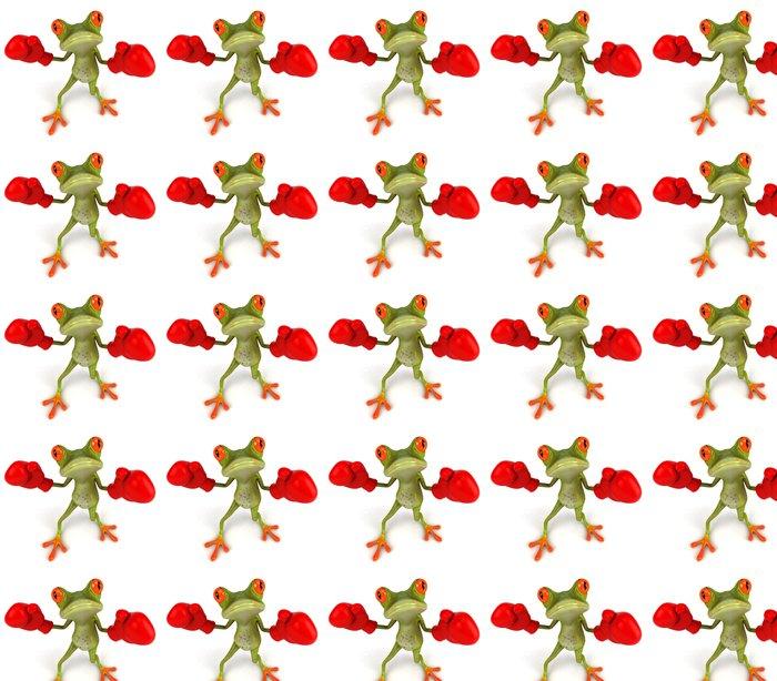 Vinylová Tapeta Frog Boxing - Značky a symboly