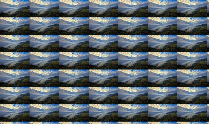 Vinylová Tapeta Roll Mraky v Big Sur přes mostu Bixby, Kalifornie, USA - Voda