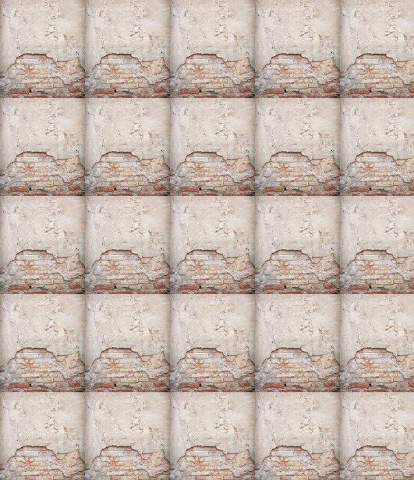 Vinylová Tapeta Cihla, beton zvětralý grunge wall background - Témata
