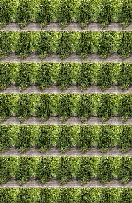 Vinylová Tapeta Waldweg Panorama Vertikal - Roční období