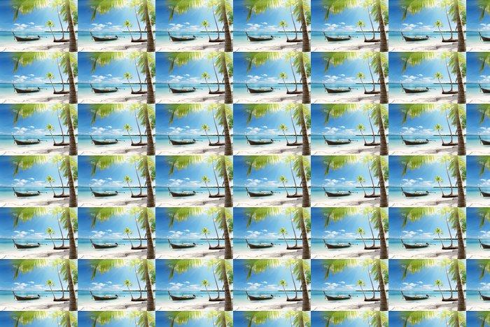 Vinylová Tapeta Moře a loď - Voda