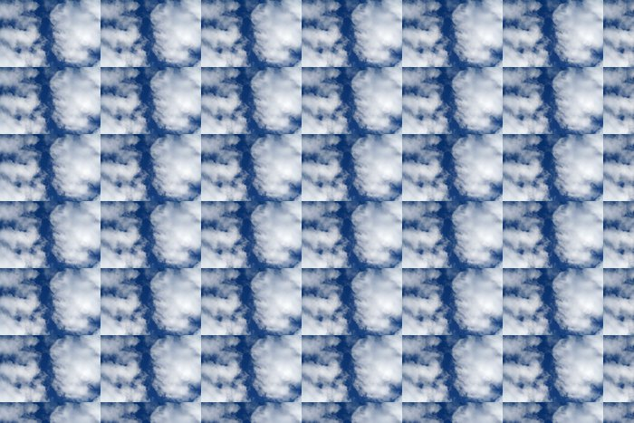Vinylová Tapeta Gros mraky blanc - Nebe