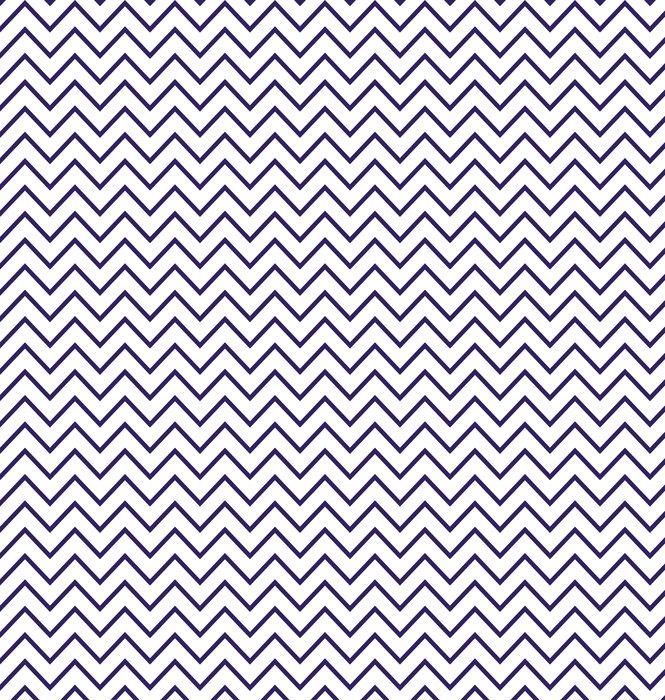 Vinylová Tapeta Abstraktní geometrické cik-cak bezešvé vzor v černé a bílé - Pozadí