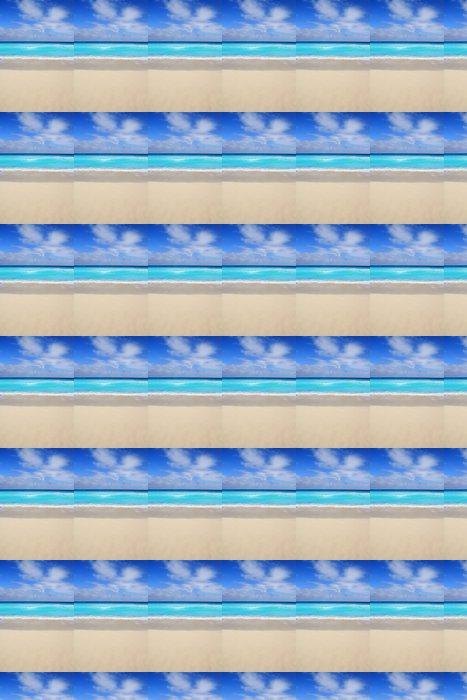Vinylová Tapeta Beach tropické vertikální Caribbean tyrkysové moře - Amerika