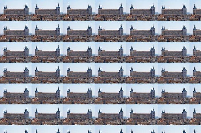 Vinylová Tapeta Alcazar de Toledo - Veřejné budovy