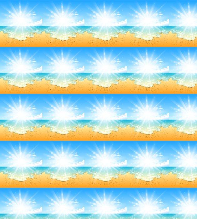 Vinylová Tapeta Pláž slunce - Prázdniny