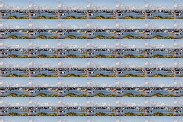 Vinylová Tapeta Hafen von Glowe - Prázdniny