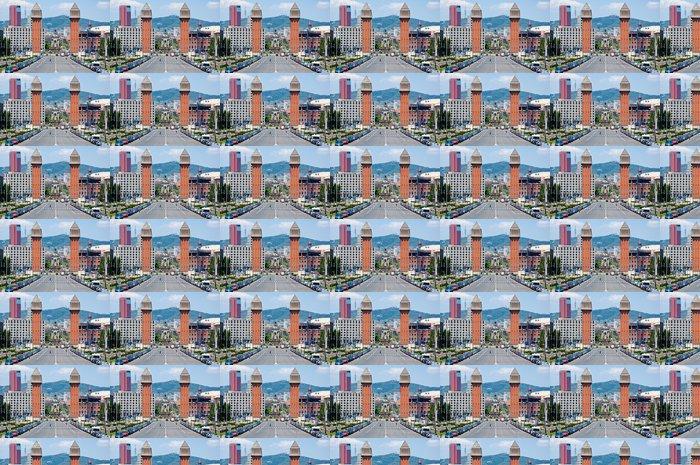 Vinylová Tapeta Benátské věže. Barcelona, Španělsko - Evropská města