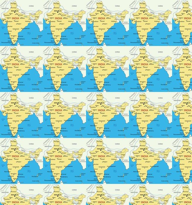 Republic Of India Vector Map Wallpaper Pixers We Live To Change