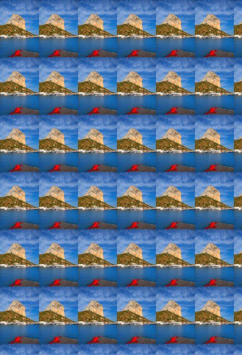 Vinylová Tapeta Calpe v Alicante s Penon Ifach hory - Prázdniny