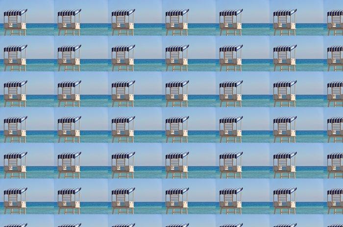 Vinylová Tapeta Plavčík věž na pláži ostrova Tenerife, Canaries - Voda