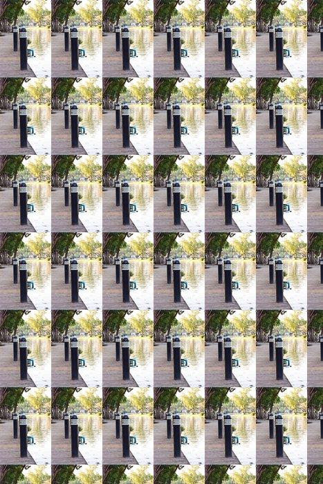 Vinylová Tapeta Zahrada v centru města - Veřejné budovy