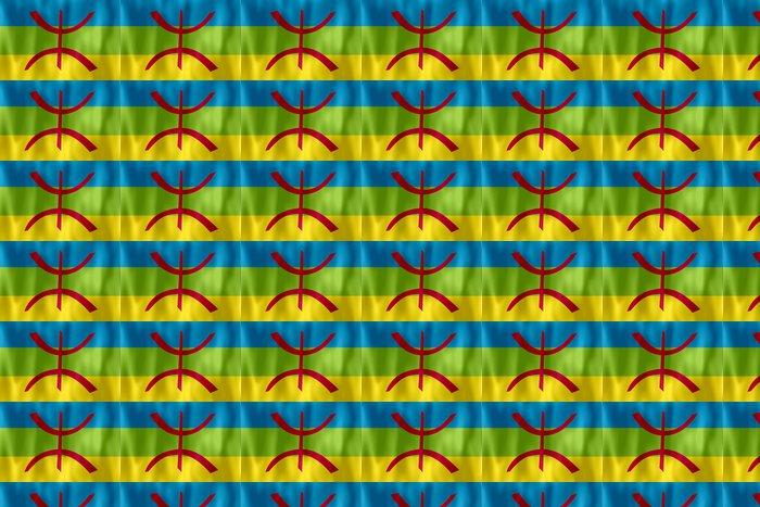 Vinylová Tapeta Drapeau berbere kabylština vlajka - Afrika