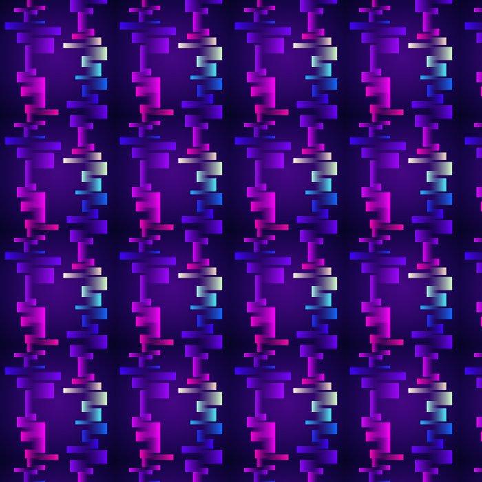 Vinylová Tapeta Barevné bezešvé tvary - Témata