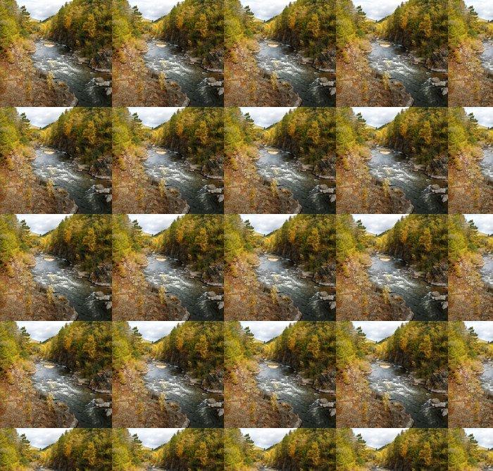 Vinylová Tapeta Podzim v lese Seaside - Roční období