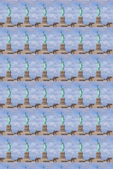 Vinylová Tapeta Socha svobody na stánku - Americká města