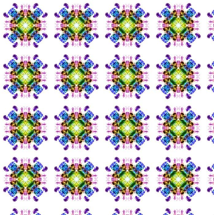 Vinylová Tapeta Barevné fraktální kouř vzor, kaleidoskop formy - Prvky podnikání