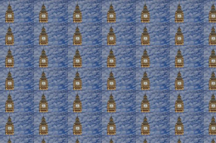 Vinylová Tapeta Big Ben - pozadí oblohy - Památky