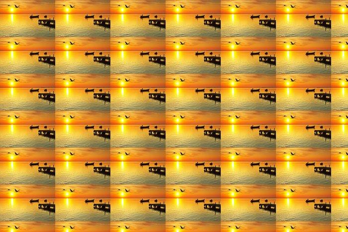 Vinylová Tapeta Přímořské prázdniny - Prázdniny